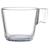 STELNA Кружка, прозрачное стекло