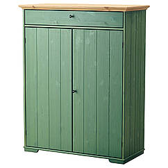 HURDAL Шкаф для белья, зеленый 102.688.52
