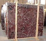 Rosso Levanto. Бордовый мрамор, фото 2