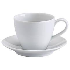 VÄRDERA Чашка кофейная с блюдцем, белый 602.774.63