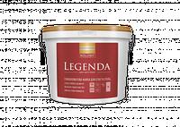Латексная акриловая краска стойкая к мытью LEGENDA  (Интериор Люкс, Колорит) 9 л С