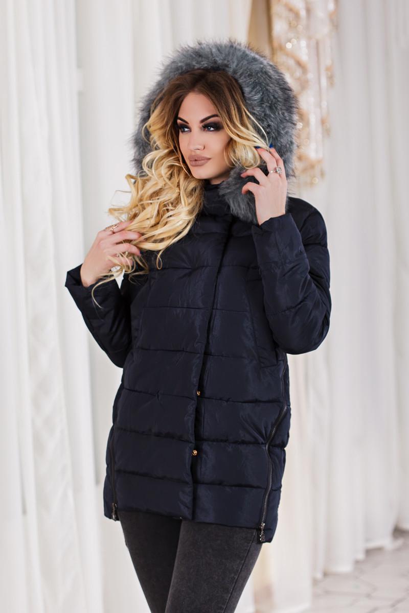 Д6126 Куртка зимняя размеры 46-50