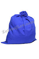 Мешок для подарков Деда Мороза синий