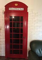 Дверь в стиле телефонной будки