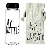 Бутылочка My Bottle черный