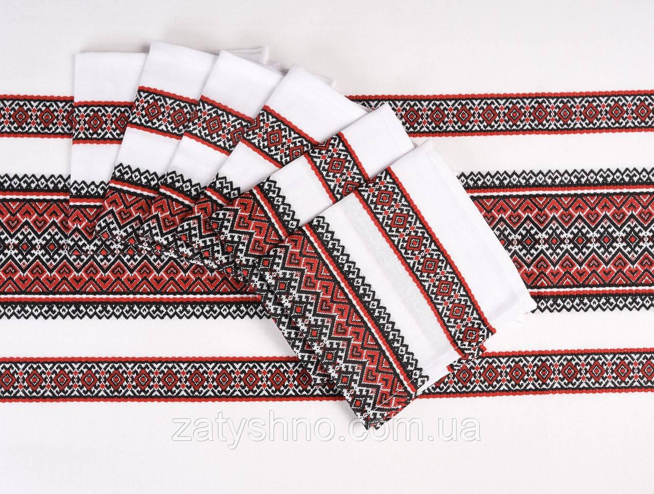 Скатерть на подарок заграницу в украинском стиле