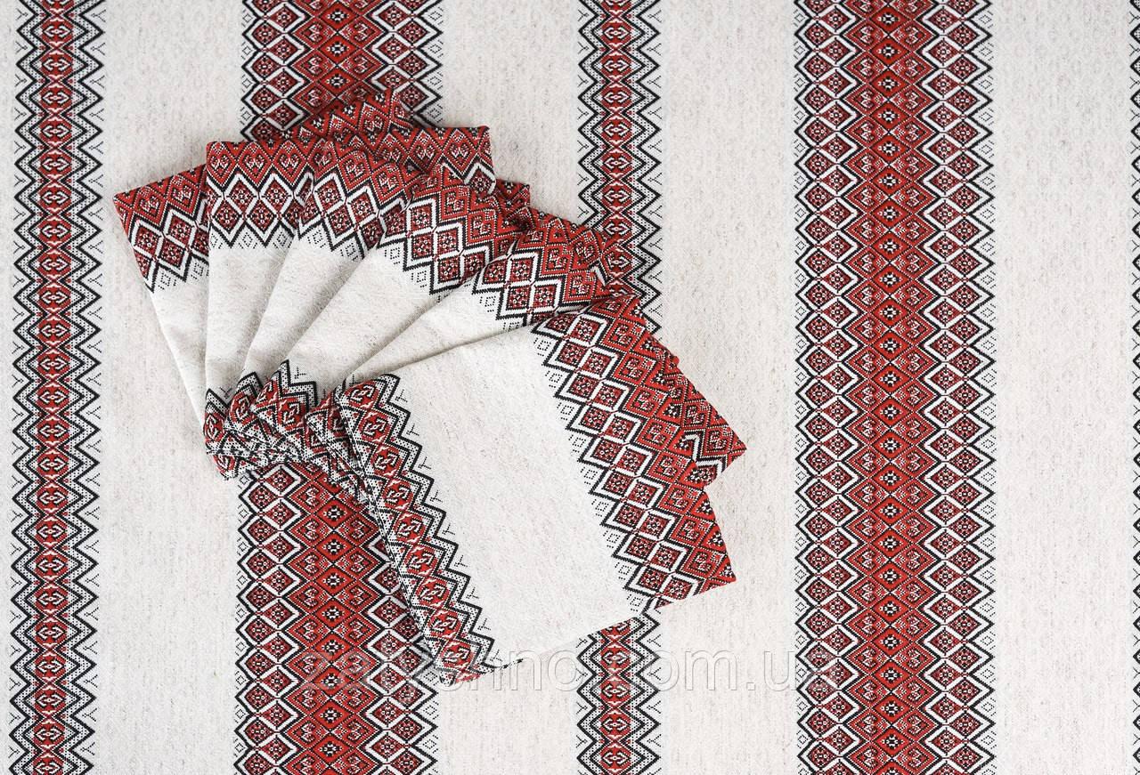 Скатерть на подарок в украинском стиле