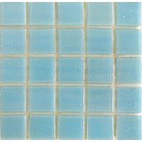 Голубая мозаика на бумажной основе Vivacer FA04