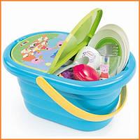 Набор посудки в корзине для пикника Свинка Пеппа Smoby 310529