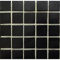 Черная мозаика на бумажной основе Vivacer FA51