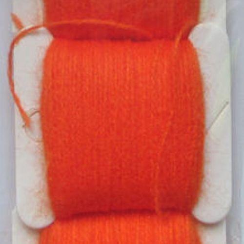 Мулине акриловое яркий оранжевый