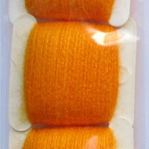 Мулине акриловое оранжево-желтый