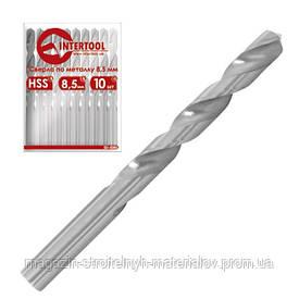 Сверло по металлу HSS INTERTOOL SD-5010