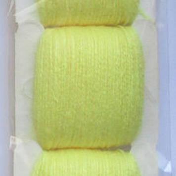 Мулине акриловое желтый
