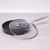 Сковородка Ø24см с крышкой литой алюминий инновационное покрытие Kamille a4284