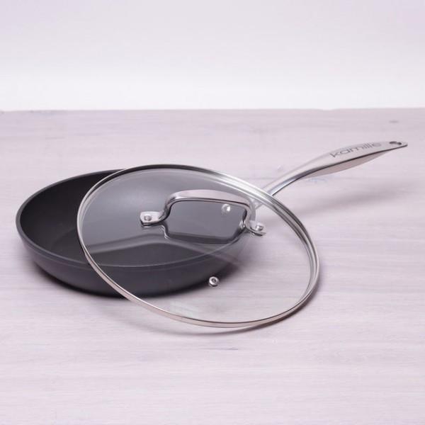 Сковородка Ø24см с крышкой литой алюминий инновационное покрытие Kamille a4284 - Я в шоке!™ в Хмельницком