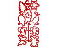Формочки пластиковые для печенья (8 фигурок) Kamille a10105