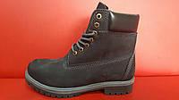 Мужские ботинки Timberland Classic Black Boots на меху