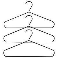 Набор вешалок для одежды IKEA STRYKIS 3 шт черный 103.170.65