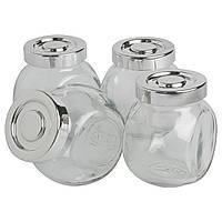 Емкость для специй икеа RAJTAN, стекло, серебристый, IKEA, 400.647.02