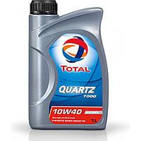 Полусинтетическое моторное масло TOTAL QUARTZ DIESEL 7000 10W-40, 1Л