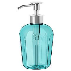 SVARTSJÖN Дозатор для жидкого мыла, бирюзовый 202.643.92