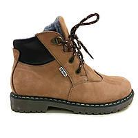 Зимние ботинки, натур. нубук, р. 27-36
