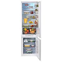 HÄFTIGT Встроенный холодильник/морозильная камера , белый