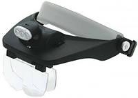 Лупа бинокулярная Magnifier 81001-E 6x