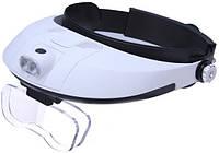Лупа бинокулярная Magnifier 81001-G 6x