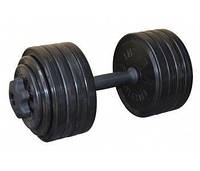 Гантель разборная черная 23.82 кг Inter Atletika (СТ 530.25)