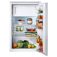 SVALKAS Встроенный холодильник, морозильная камера, белый