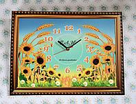 Часы настенные прямоугольные Картина