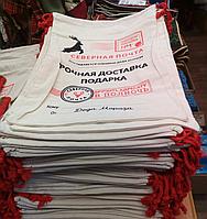Новогодний декор мешочек для подарков 420х297 мм, фото 1