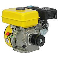 Двигатель Кентавр ДВЗ 200Б3Р (шпонка, шкив, вал 20мм)