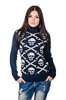 Молодежный женский теплый свитер, расцветки