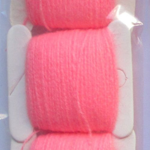 Мулине акриловое кислотно розовый