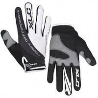 Перчатки велосипедные Mercury XLC, черно-белые