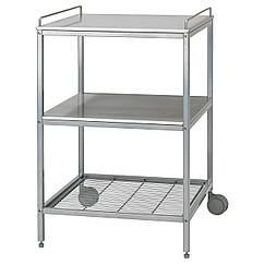 UDDEN Бар-кухня, серебряный, нержавеющ сталь 601.169.98