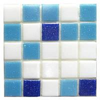 Мозаика для бассейна смесь цветов Vivacer GLmix20