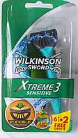 Одноразовые станки Wilkinson Sword Xtreme 3 (8шт)