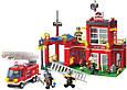 Конструктор Brick 910 Пожарная часть, фото 2