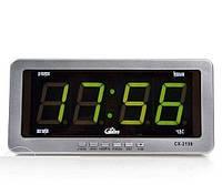Часы электронные Caixing CX- 2159, настольные часы, проэкторы, светотехника, светильники,электронные часы