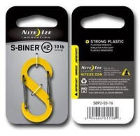 Карабин Nite Ize PlasticCarbYellow SBiner S2 NI790