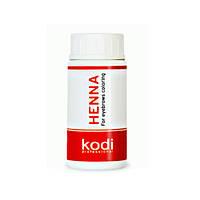 Хна для окрашивания темно-коричневая 10 гр Kodi