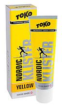 Воск Toko Nordic Klister yellow 55g