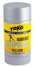 Воск Toko Nordlic GripWax yellow 25g