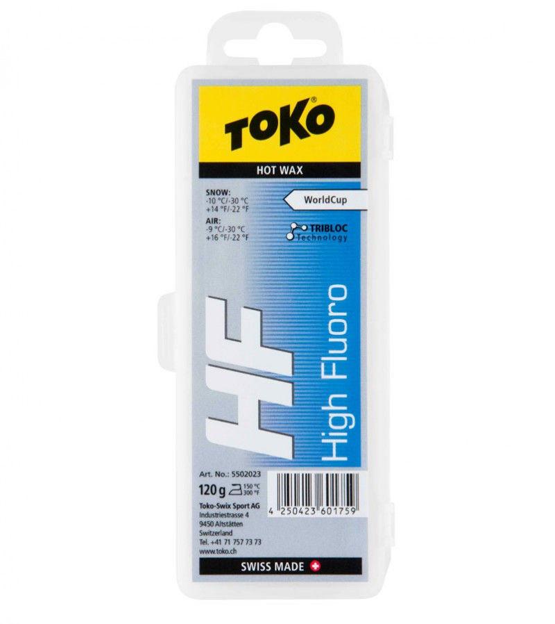 Воск Toko HF Hot Wax blue 120g