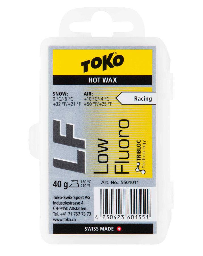 Воск Toko LF Hot Wax yellow 40g