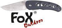 Нож складной чёрный Fox Outdoor 45841A